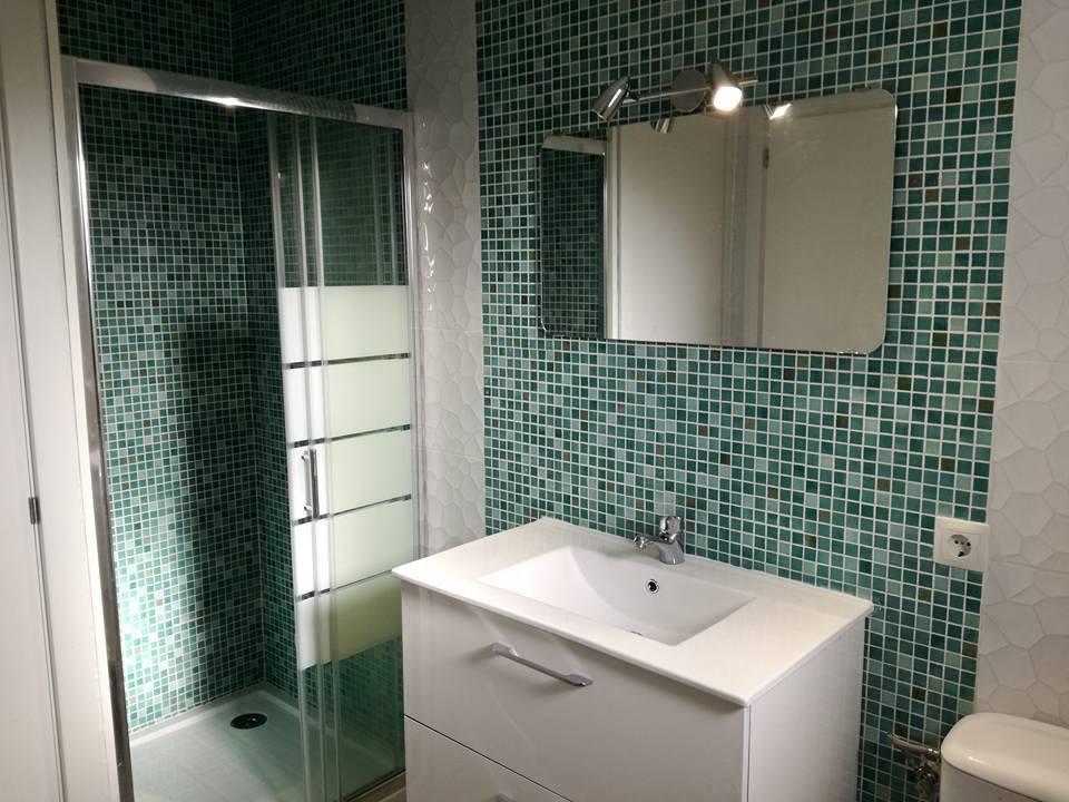 Reforma de baño en apartamento